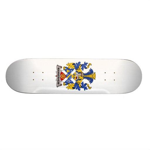 Escudo de la familia de Mannerheim Tabla De Patinar