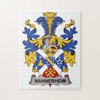 Escudo de la familia de Mannerheim Puzzles