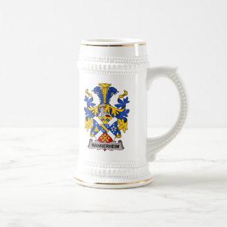 Escudo de la familia de Mannerheim Taza