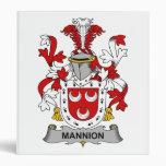 Escudo de la familia de Mannion