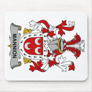 Escudo de la familia de Mannion Tapete De Ratón