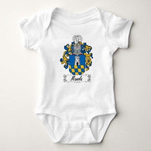 Escudo de la familia de Manola Body Para Bebé