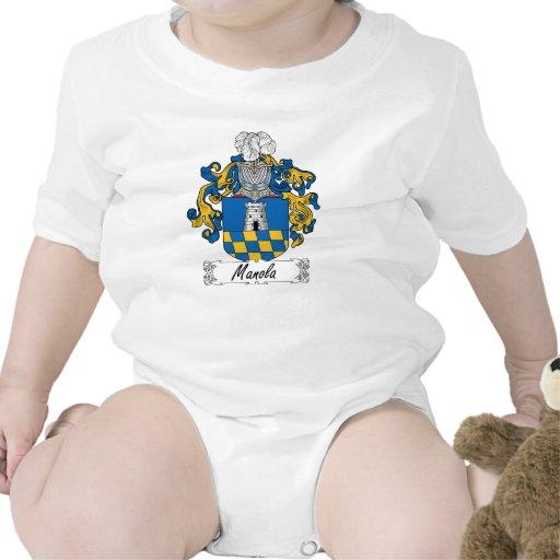 Escudo de la familia de Manola Traje De Bebé