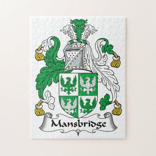 Escudo de la familia de Mansbridge Rompecabezas