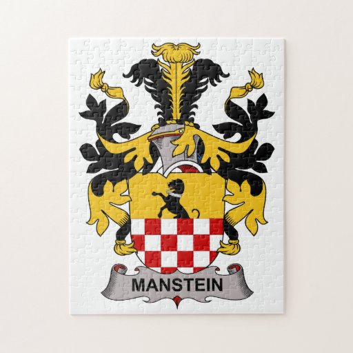 Escudo de la familia de Manstein Rompecabezas