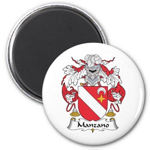 Escudo de la familia de Manzano Iman