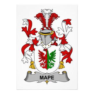 Escudo de la familia de Mape Anuncios Personalizados