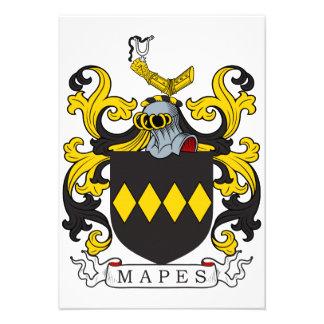 Escudo de la familia de Mapes Comunicado Personal