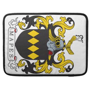 Escudo de la familia de Mapes Fundas Para Macbook Pro