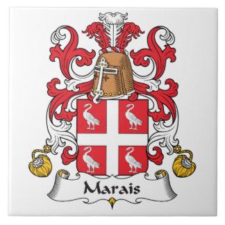 Escudo de la familia de Marais Azulejos