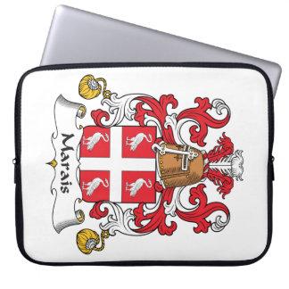 Escudo de la familia de Marais Mangas Computadora