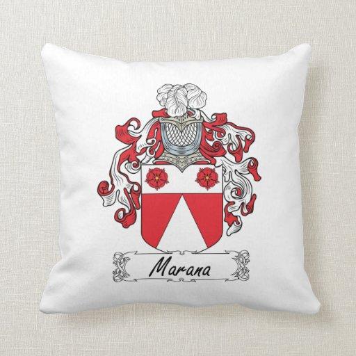 Escudo de la familia de Marana Cojin