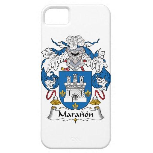 Escudo de la familia de Maranon iPhone 5 Carcasa
