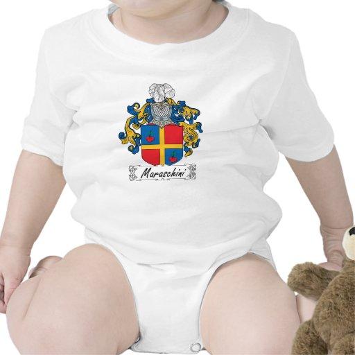 Escudo de la familia de Maraschini Camiseta