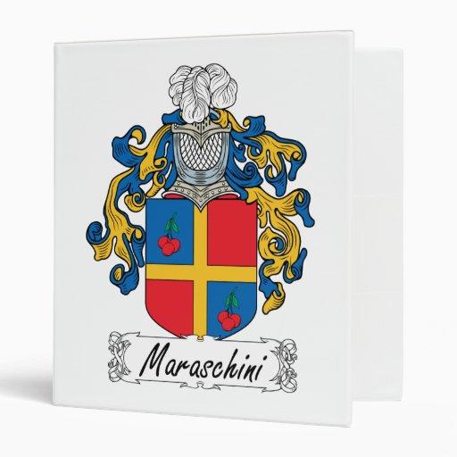 Escudo de la familia de Maraschini