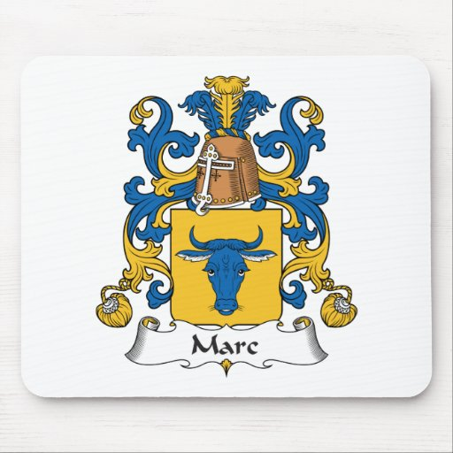 Escudo de la familia de Marc Alfombrilla De Ratones