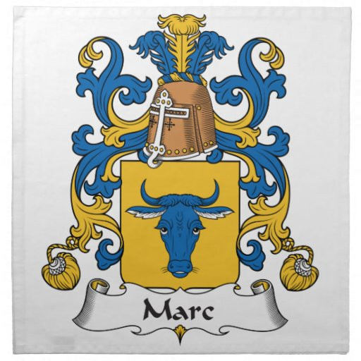 Escudo de la familia de Marc Servilleta De Papel