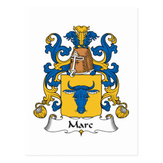 Escudo de la familia de Marc Tarjetas Postales
