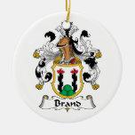 Escudo de la familia de marca ornamentos para reyes magos