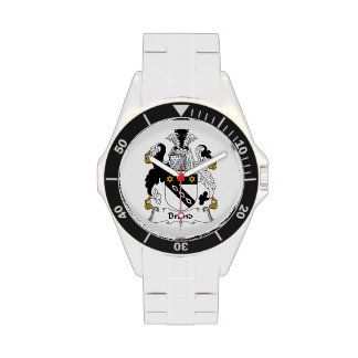 Escudo de la familia de marca reloj
