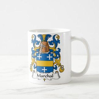 Escudo de la familia de Marchal Tazas De Café