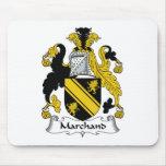 Escudo de la familia de Marchand Alfombrilla De Ratones