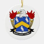 Escudo de la familia de Marchant Ornamentos De Reyes