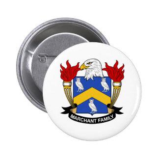 Escudo de la familia de Marchant Pin