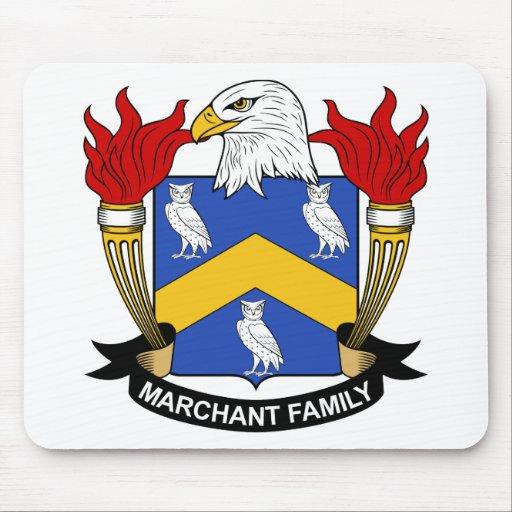 Escudo de la familia de Marchant Tapetes De Raton