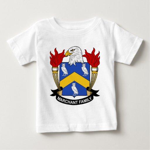 Escudo de la familia de Marchant Tshirts