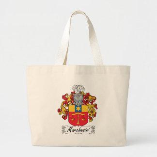 Escudo de la familia de Marchesini Bolsas De Mano
