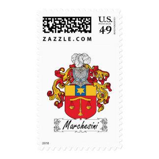 Escudo de la familia de Marchesini Franqueo