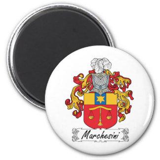 Escudo de la familia de Marchesini Imanes De Nevera