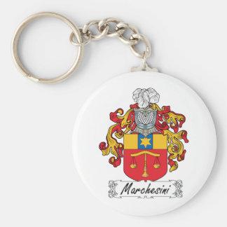 Escudo de la familia de Marchesini Llavero Personalizado