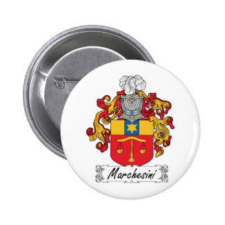 Escudo de la familia de Marchesini Pin