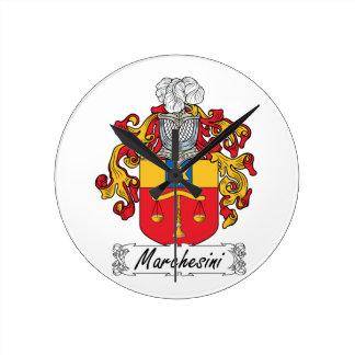 Escudo de la familia de Marchesini Relojes