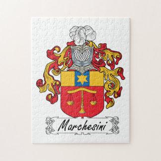 Escudo de la familia de Marchesini Rompecabezas