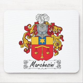 Escudo de la familia de Marchesini Alfombrilla De Raton