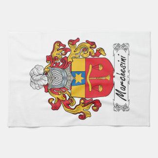 Escudo de la familia de Marchesini Toallas
