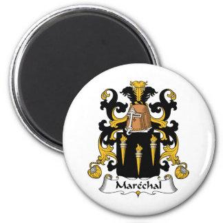 Escudo de la familia de Marechal Imán Redondo 5 Cm