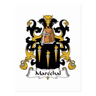 Escudo de la familia de Marechal Postal