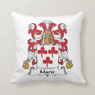Escudo de la familia de Marie Almohadas