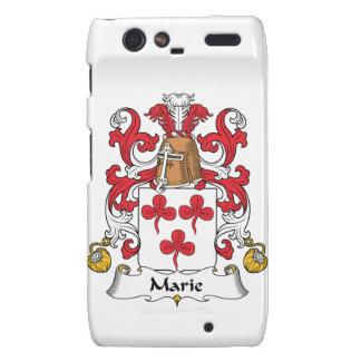 Escudo de la familia de Marie Droid RAZR Carcasa