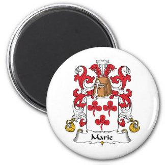 Escudo de la familia de Marie Imán Redondo 5 Cm