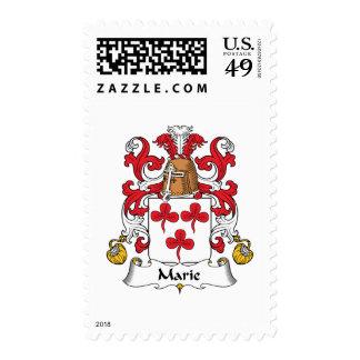 Escudo de la familia de Marie Sello