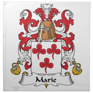 Escudo de la familia de Marie Servilletas