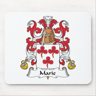 Escudo de la familia de Marie Alfombrillas De Ratones