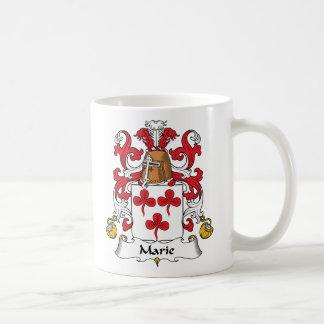 Escudo de la familia de Marie Tazas De Café