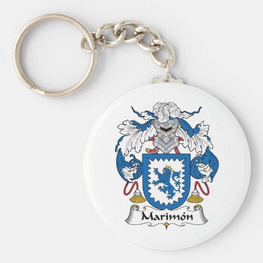 Escudo de la familia de Marimon Llavero Personalizado