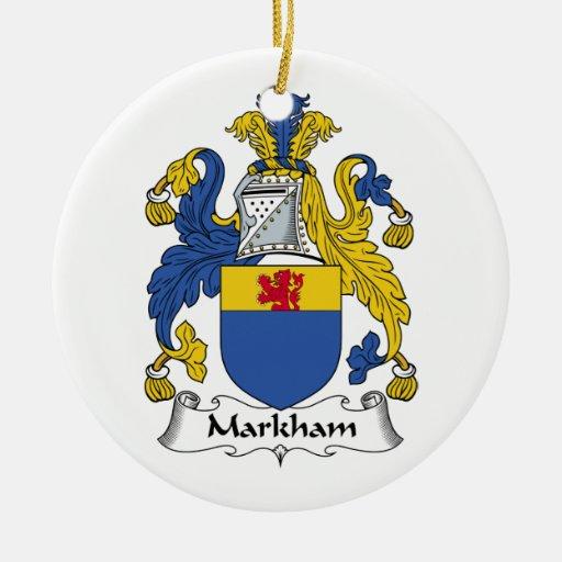 Escudo de la familia de Markham Ornamentos De Reyes Magos